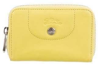 Longchamp Leather Zip Wallet