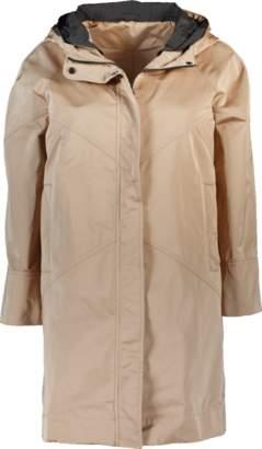 Brunello Cucinelli Geometric Stitching Hooded Coat