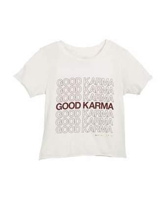Spiritual Gangster Good Karma Short-Sleeve Tee, Size 6-14