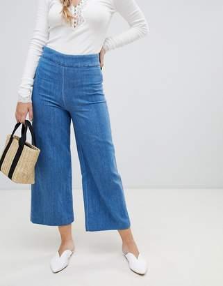 Free People Clean Wide Leg Jeans