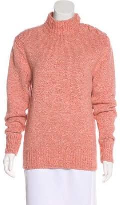 Victoria Beckham Long Sleeve Wool-Blend Sweater