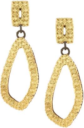 Armenta Old World 18k Illusion-Set Teardrop Earrings HdakDX9