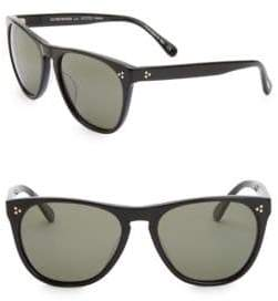 Oliver Peoples Daddy 58MM Square Sunglasses