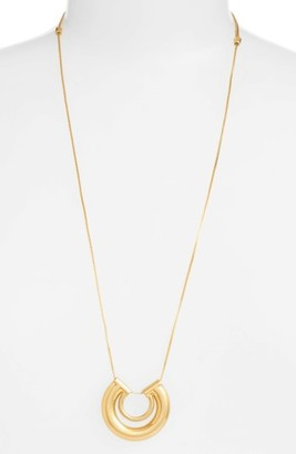 Women's Madewell Coliseum Pendant Necklace $48 thestylecure.com
