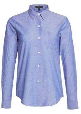 Theory The Perfect Cotton Shirt