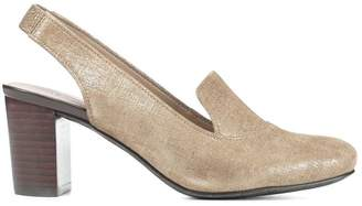 Donald J Pliner POSY, Distressed Metallic Slingback Pump