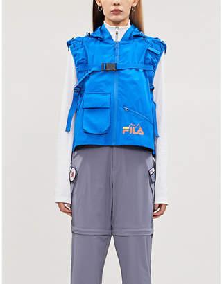 Fila Tactical hooded shell vest