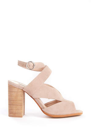 Chinese Laundry Cut Out Stacked Heel Sandal