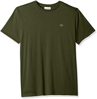 Lacoste Men's Short Sleeve Jersey Pima Regular Fit Crewneck T-Shirt