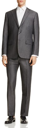 Eidos Solid Slub Slim Fit Suit $1,495 thestylecure.com