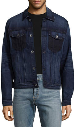 7 For All Mankind Seven 7 Faded Trucker Cotton Jacket