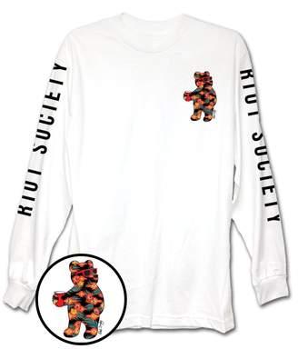 Riot Society Tropical Native Bear Mens Long Sleeve T-Shirt