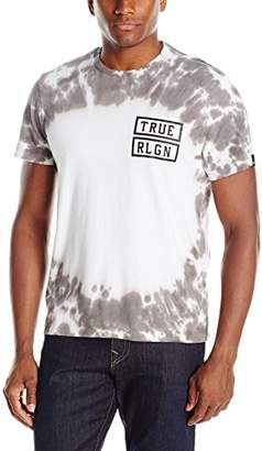 True Religion Men's Outlaws Tie Dye T-Shirt