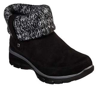 Skechers Women's Easy Going - Heighten - Foldover Knit Collar Boot Ankle