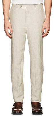 Piattelli MEN'S LINEN TROUSERS