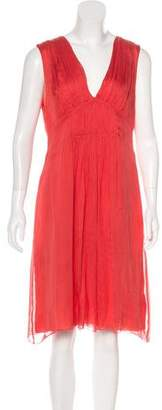L'Agence Sleeveless Knee-Length Dress