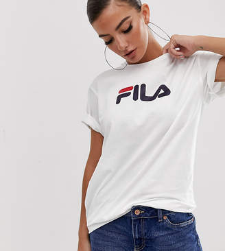 Fila Oversized Boyfriend T-Shirt With Chest Logo