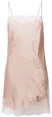 Carine Gilson floral lace chemise