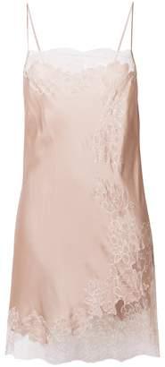 Carine Gilson floral lace chemise