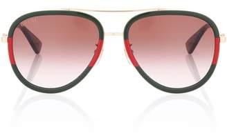Gucci Exclusive to mytheresa.com — Aviator sunglasses