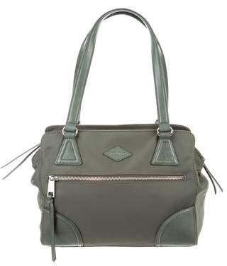 MZ Wallace Leather-Trimmed Nylon Shoulder Bag