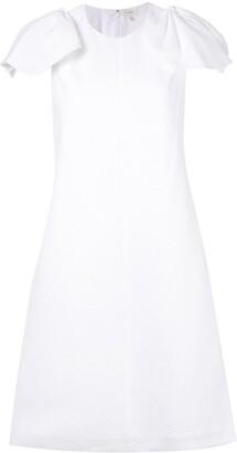 DELPOZO bow-sleeve dress