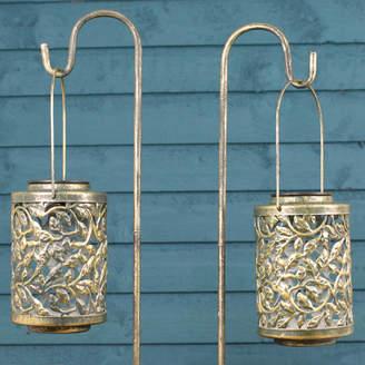 solar powered garden lanterns shopstyle uk