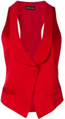 Giorgio Armani Pre-Owned shawl lapel vest