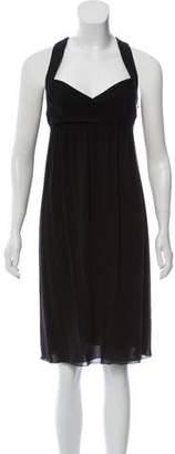 Emilio Pucci Silk-Blend Empire Dress
