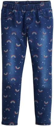 Girls 4-12 Jumping Beans Rainbow French Terry Leggings