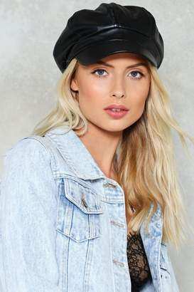 Nasty Gal Highway to Hell Newsboy Cap
