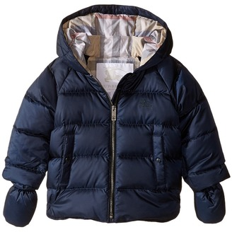 Burberry Kids - Rilla Puffy Checked Hood Jacket Boy's Coat $250 thestylecure.com