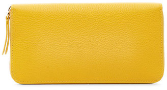 mulberry Canary Zip-Around Wallet $365 thestylecure.com