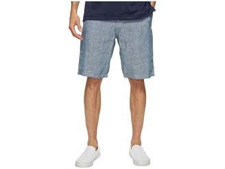 Lucky Brand Chambray Flat Front Shorts Men's Shorts