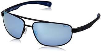 Revo Wraith RE 1018 Polarized Rectangular Sunglasses