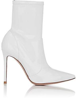 Gianvito Rossi Women's Vinyl Ankle Boots - White