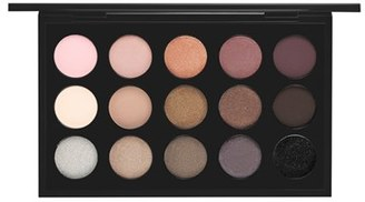 MAC Cool Neutral Times 15 Eyeshadow Palette - Cool Neutral $65 thestylecure.com