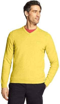 Izod Men's Premium Essentials Classic-Fit V-Neck Sweater