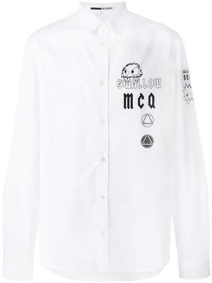 McQ swallow shirt