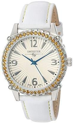 Swisstek Women's SK21406L Leather Watch
