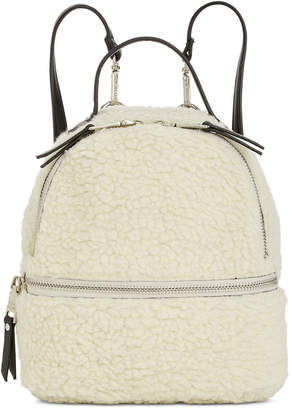 Steve Madden Minnie Faux Fur Backpack
