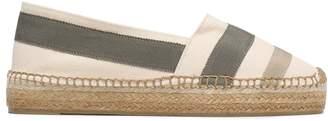 Castaner Kati Grosgrain-appliqued Cotton-blend Canvas Espadrilles
