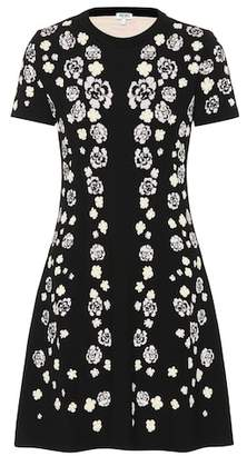 Kenzo Cheongsam Flower jacquard dress