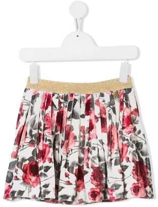 Miss Blumarine short pleated skirt