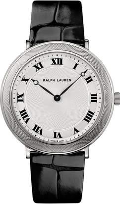 Ralph Lauren 38 MM White Gold