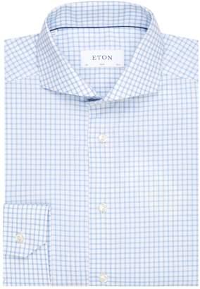 Eton Gingham Check Cotton Shirt