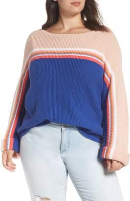 Caslon Shaker Stitch Sweater