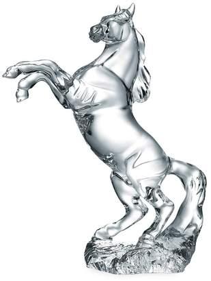 Baccarat Pegasus horse sculpture