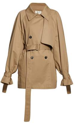 The Row Keera Belted Cotton Twill Trench Coat - Womens - Beige