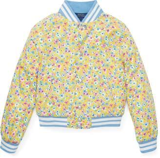 Ralph Lauren Floral Baseball Jacket